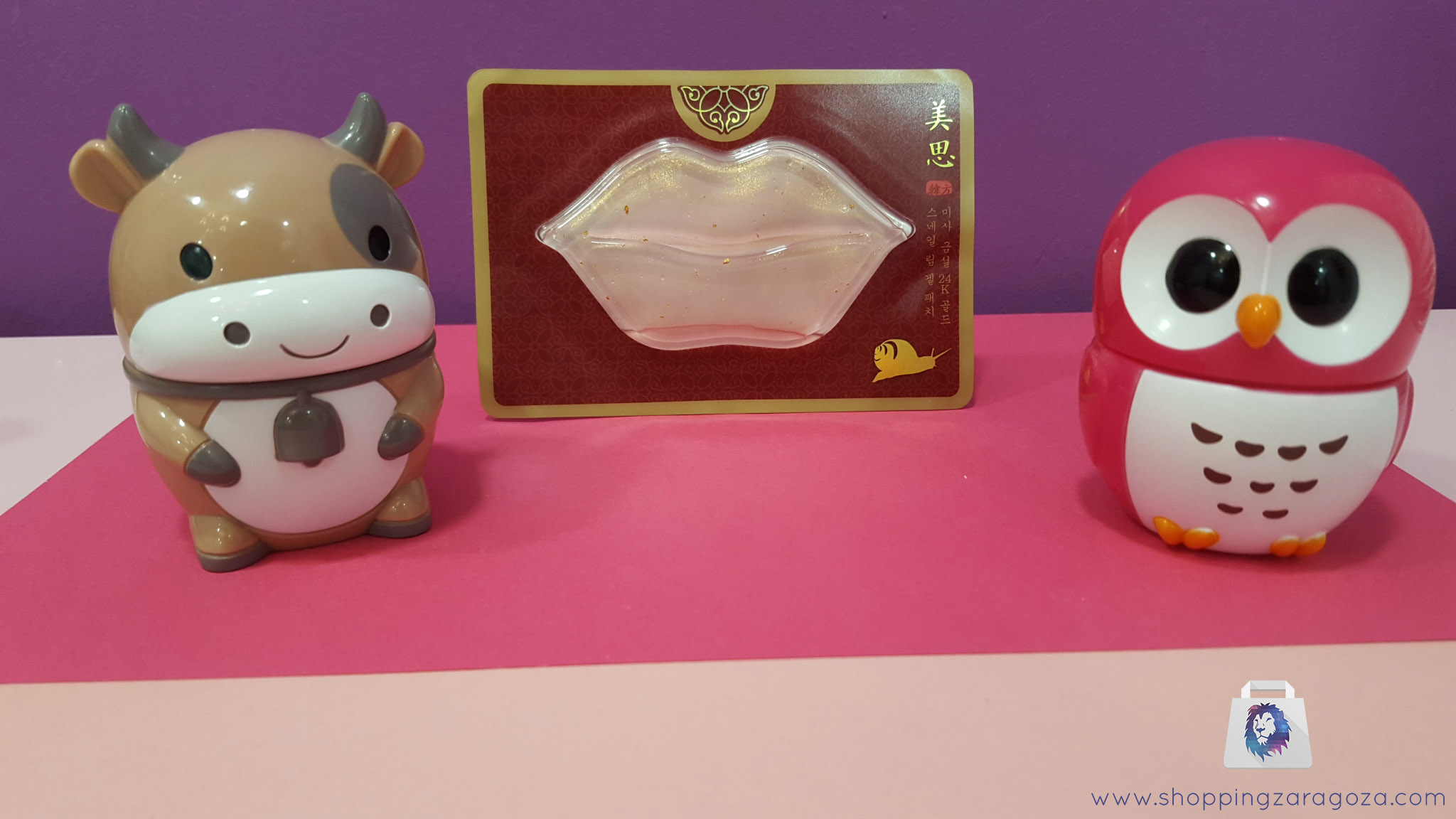 Crema de manos Buho rojo y Crema de manos vaca marrón en tienda de cosmitica asiática y cosmética coreana en zaragoza