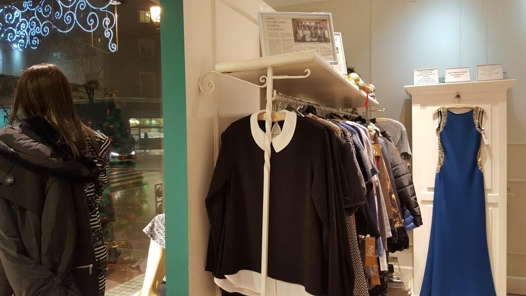 Interior tienda de Matices tienda de ropa de mujer en Zaragoza