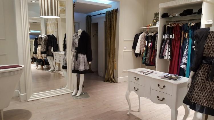 interior tienda de Matices