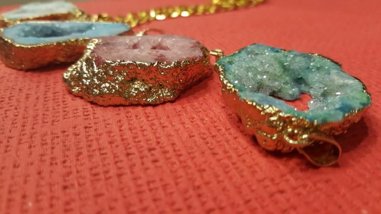 colgante piedras preciosas bisuteria
