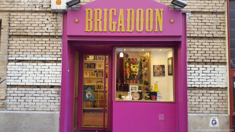 Brigaddon es una tienda de regalos de Zaragoza y de obra de autor