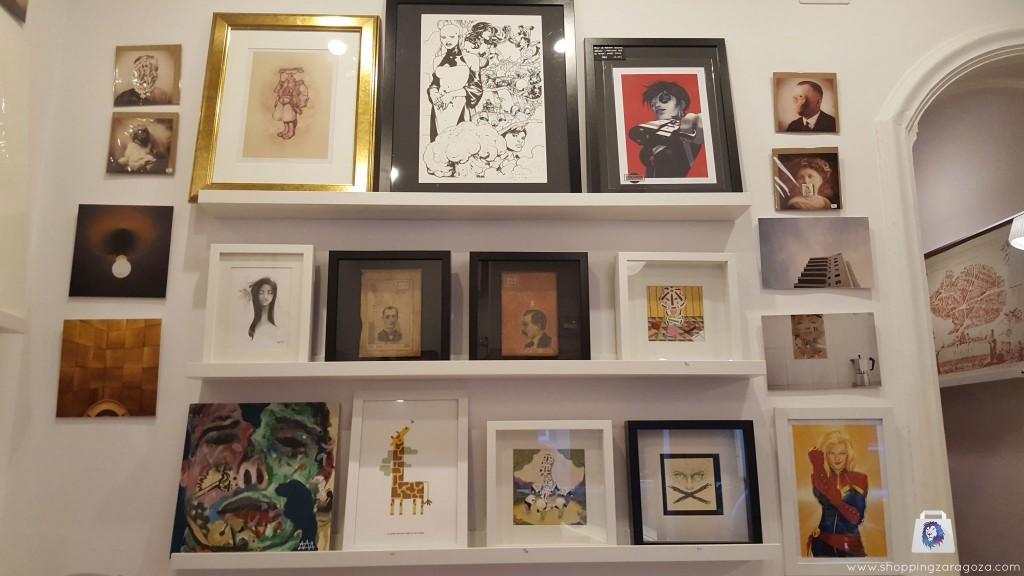 cuadros obra de autor en Brigadoon Zaragoza