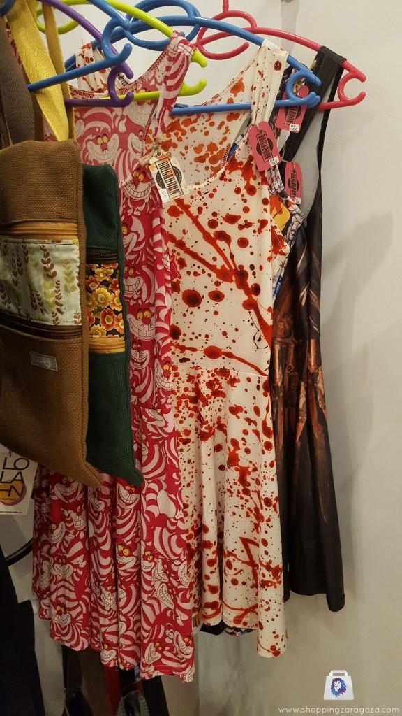 vestidos de peliculas y series, bolsos obra de autor en Brigadoon Zaragoza