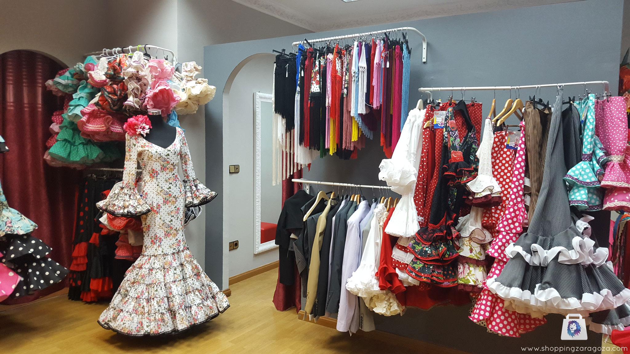 83726e139a Trajes de sevillana y moda flamenca en Zaragoza